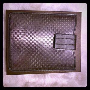 Authentic Gucci iPad case